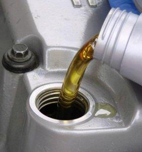 Отработанное моторное масло без примесей