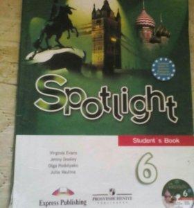 Продам учебник по английскому языку 6 класс