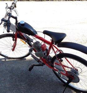 Двигатель 50сс на велосипед