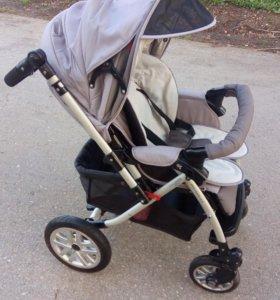 Детская прогулочная коляска «Capella Сибирь»