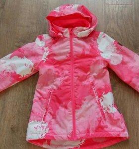 Демисезонная куртка для девочки REIMA р134