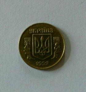 Монета 10 копеек Украина 1992
