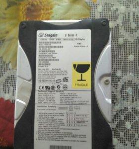 Жёсткий диск и монитор