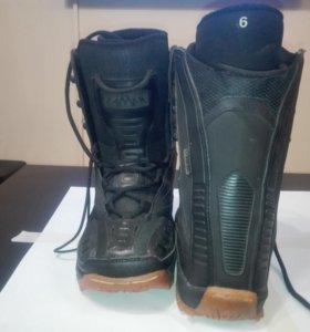 Ботинки сноубордические, 38 размер