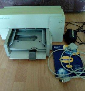 Принтер струйный цветной HP deskjet 610c