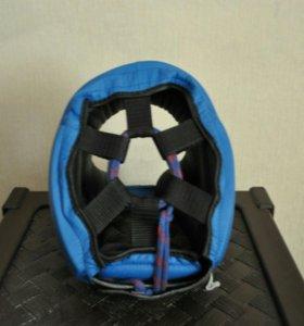 Кожанный боксерский шлем