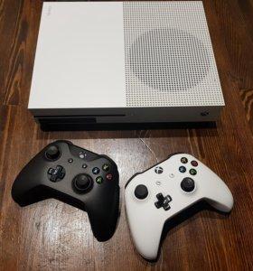 Xbox One S 500GB + ИГРЫ