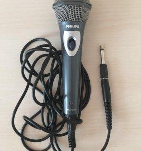 Микрофон для караоке проводной Philips SBC MD150