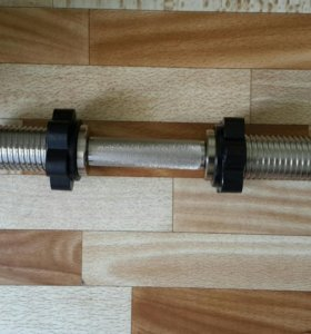 Гриф хромированный MB Barbell MB-BarM50-M390B