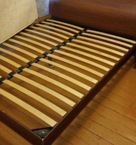 Кровать 2-спальная с матрасом