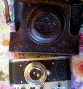 Фотоаппарат зоркий с