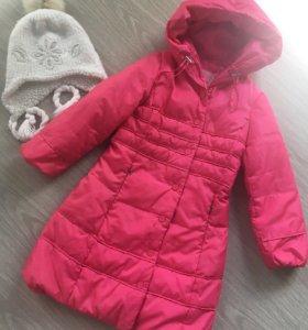 Зимнее пуховое пальто sela