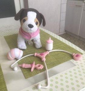Игрушка интерактивная собака Ронни для кукол беби
