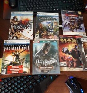 пиратские диски с играми