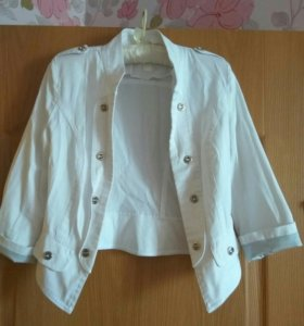 Пиджак женский укороченный
