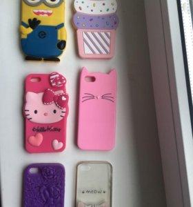 Продам чехлы на Iphone 5s