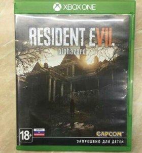 Игра для Microsoft Xbox one resident evil 7 biohaz