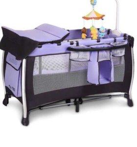 Новая Детская кровать-манеж Coccolle