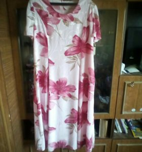 Платье с пиджаком р-р 54-56