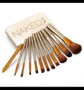 Кисти для макияжа -MAKED 3
