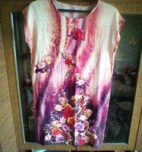 4 летних платья р-р 50-54