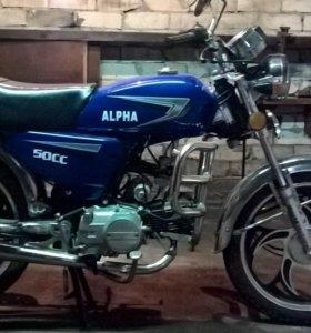 Мопед alpha кт50