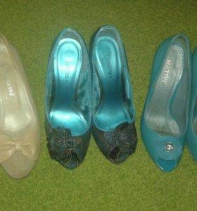 Туфельки три пары