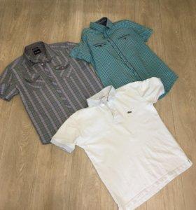 2 Мужские рубашки и Поло