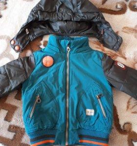 Куртка на мальчика 92р