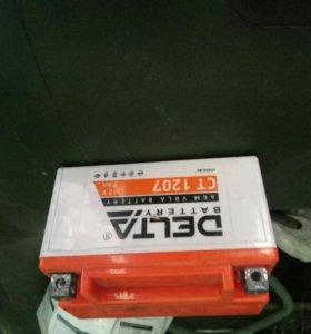 Аккумулятор для мототехники