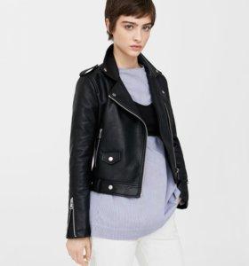 Куртка из экокожи, косуха