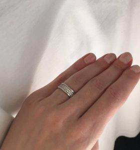 Кольцо серебряное 16.0