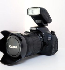 Canon EOS 600D + 18-135mm is
