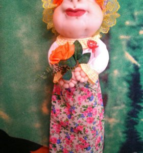 Кукла - пакетница