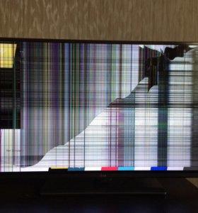 Телевизор LG 43 дюйма