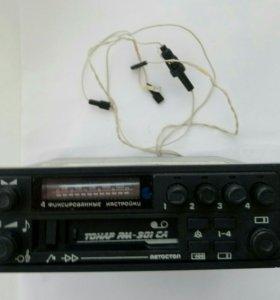 Стереомагнитола автомобильная тонар рм-301 са
