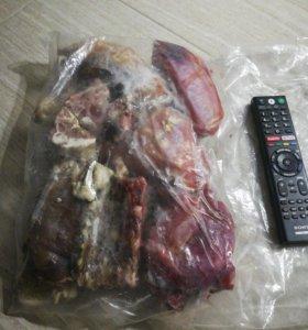 Кости мясные на корм собаке, пакетом