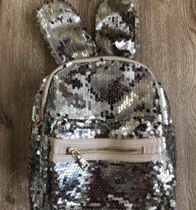 Рюкзачки с ушами