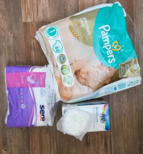Прокладки и подгузники для роддома