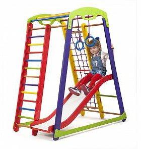 Детский спортивный уголок- Кроха - 1 Plus 1