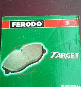 Колодки тормозные передние FERODO для ВАЗ