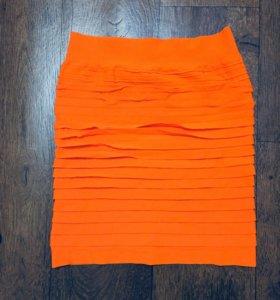 Новая яркая юбка-топ