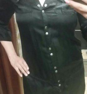 Туника-платье . Шелк.