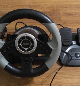 Игровой руль+педали Mad Rider
