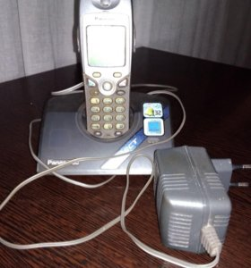 Радио телефон panasonic в рабочем состоянии