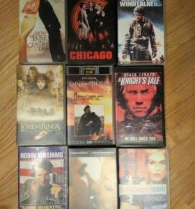 Видеокассеты VHS с фильмами на английском