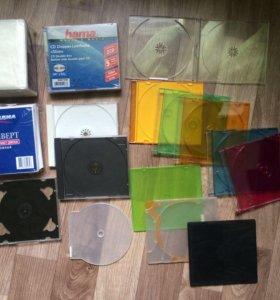 Коробки, конверты, боксы для CD/DVD