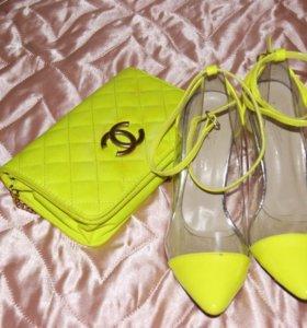Набор туфли и сумочка