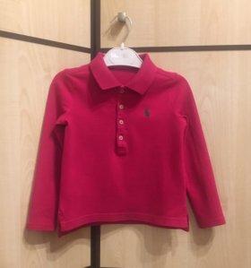 Поло для девочки Ralph Lauren, размер 3T.
