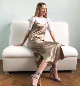 Новое платье комбинация